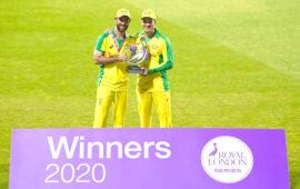 Maxwell, Carey star as Australia beats England in ODI series