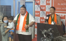 BJP Nagaland launches campaign on Atma Nirbhar Bharat