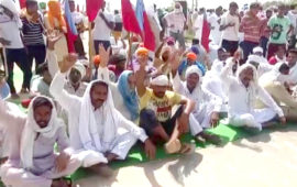 Farmers observe Bharat Bandh in protest against agri bills