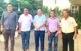 CNTC meets PAM on Naga issue