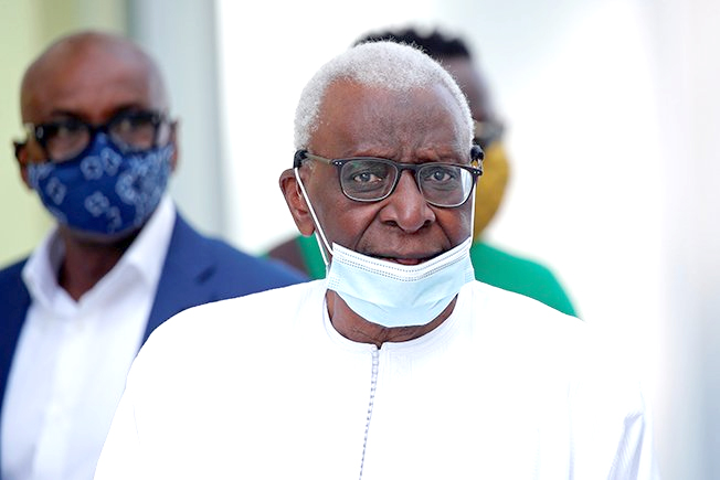 Ex-head of world athletics Lamine Diack sent to jail for corruption