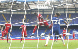 EPL: Mane double eases Liverpool to 2-0 win over 10-man Chelsea