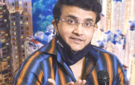 Want series against England on Indian grounds but monitoring COVID situation: Ganguly