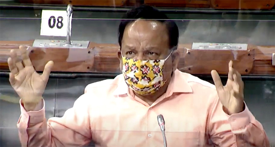 Harsh Vardhan in LS