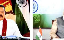Indian & Sri Lankan PMs holds talks