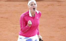 Kvitova sails past Dodin into second round in Paris