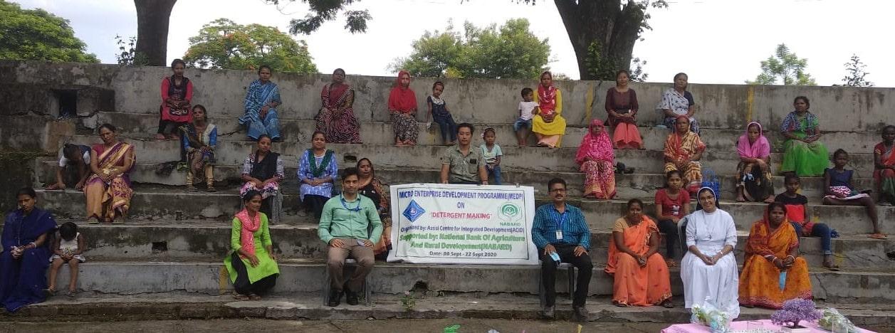 MEDP programme on Detergent making