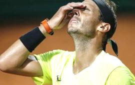 Nadal crashes out, Djokovic battles into Italian Open Semi-Finals