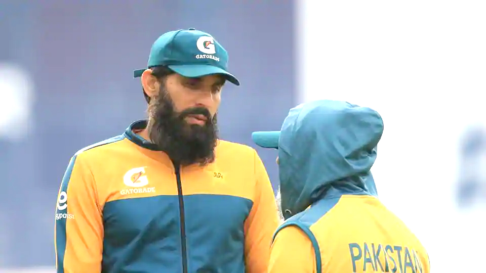 Pakistan coach Misbah ul Haq