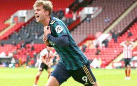 EPL: Patrick Bamford strikes late as Leeds blunt Blades
