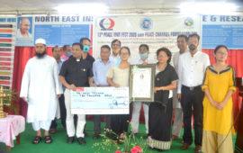 Seno Tsuhah conferred Peace Award 2020