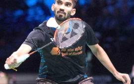 Kidambi Srikanth seeded sixth at Denmark Open