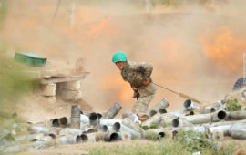 Tensions mount as Azerbaijan and ethnic Armenian forces fight for fourth day