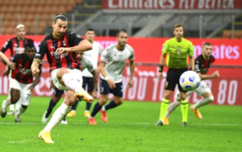 Zlatan Ibrahimovic brace gives AC Milan winning start