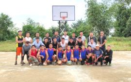 Lockdown Project: Iron basketball board inaugurated at Chetheba