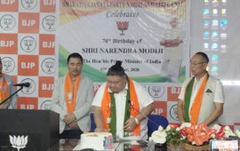 With 3.65 lakh members, BJP claims to be largest party in Nagaland
