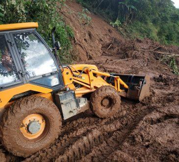 AR restores road