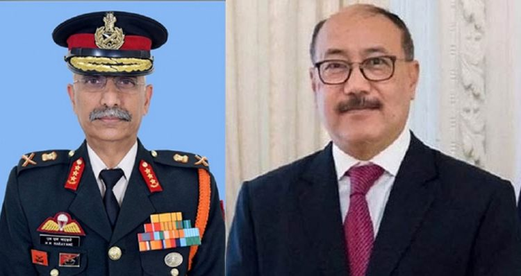 Army chief foreign secy 1