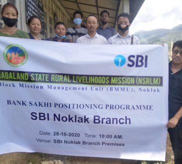 Bank Sakhi at SBI at Noklak
