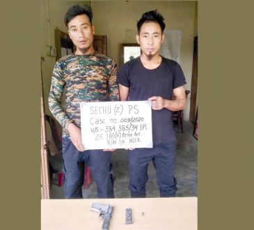 Kohima arrests
