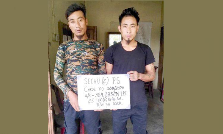 Kohima arrests