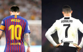 Messi vs Ronaldo in Champions League group stage as Barca draw Juve