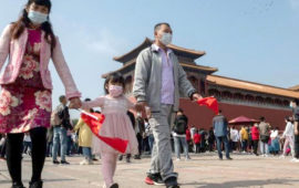 Millions of Chinese hit roads to celebrate National Day holidays shedding COVID-19 fears