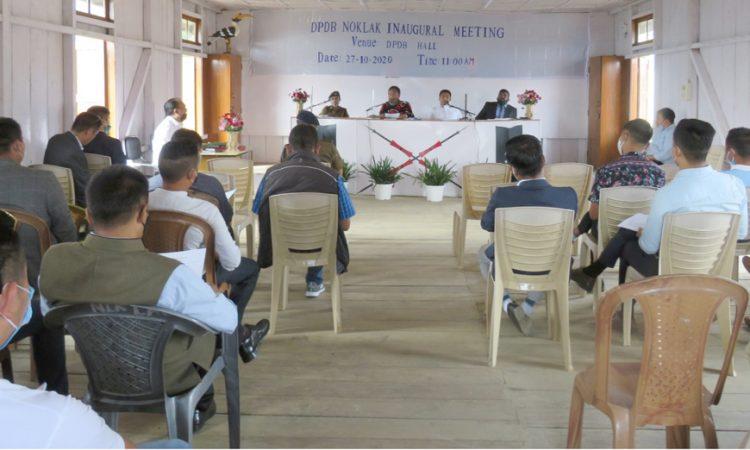 Noklak DPDB Meeting