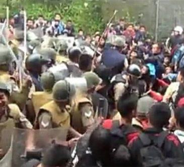 Tension at Assam Mizo border