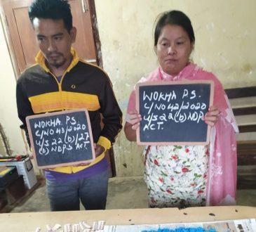 Wokha Police apprehended two drug peddlers1