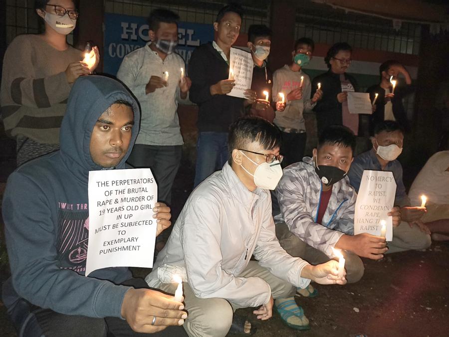 candle light kohima