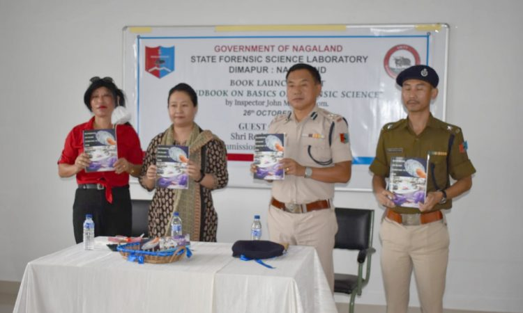 forensic book release