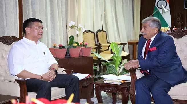 Arunachal Gov and cM