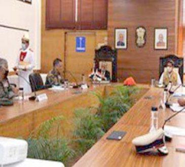 Arunachal Gov high level meet