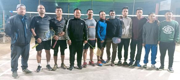 Badminton tourney