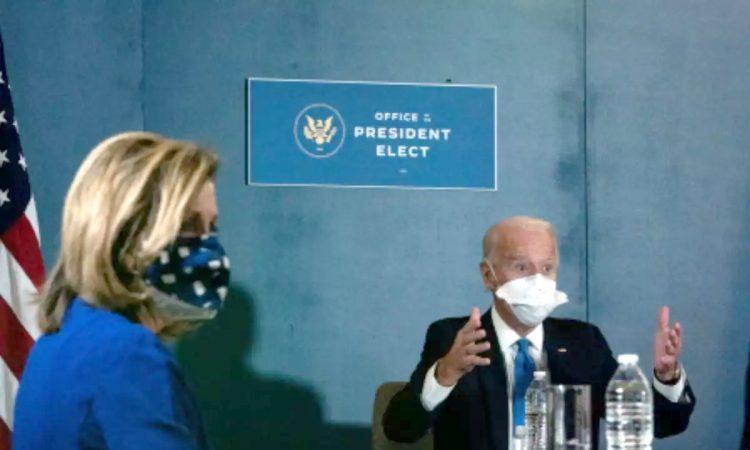 Biden Harris meet