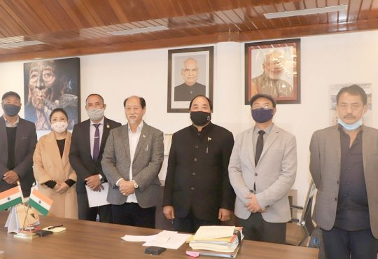 CM apponts Medo Yhokha as Advisor to CM