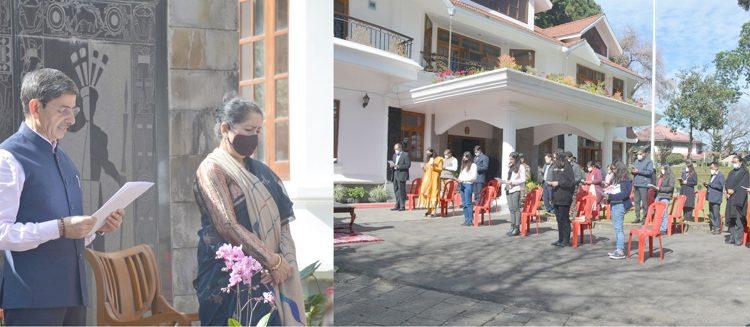 Constitution Day at Raj Bhavan