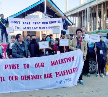 ENSF agitation begins