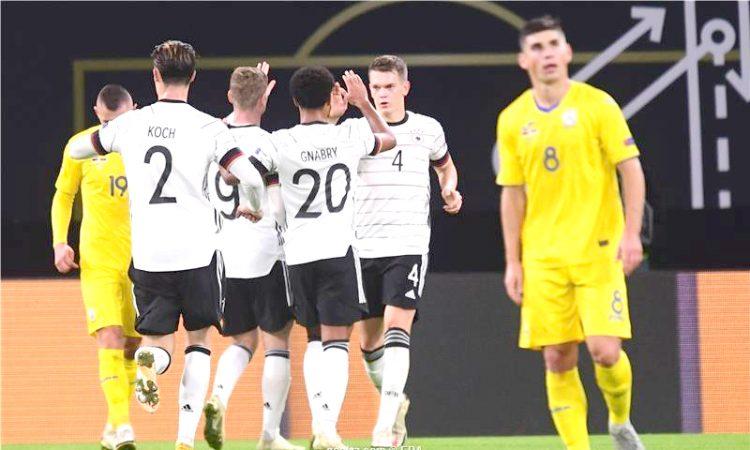Germany beat Ukraine 1