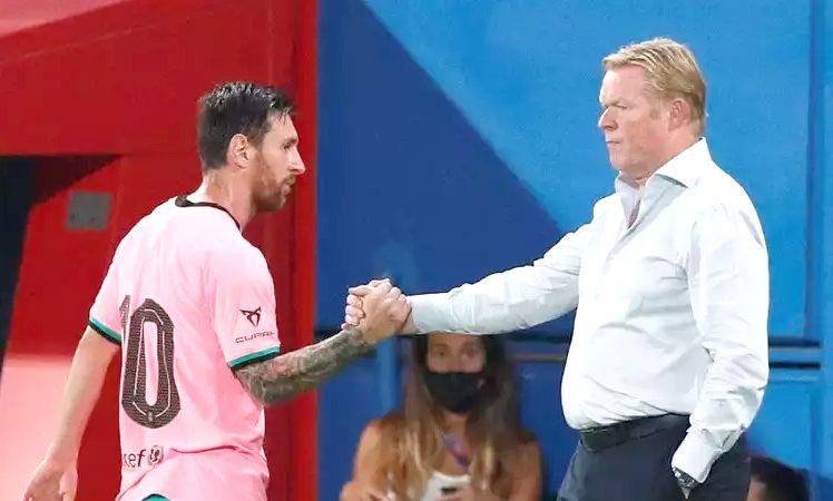 Koeman defends Lionel