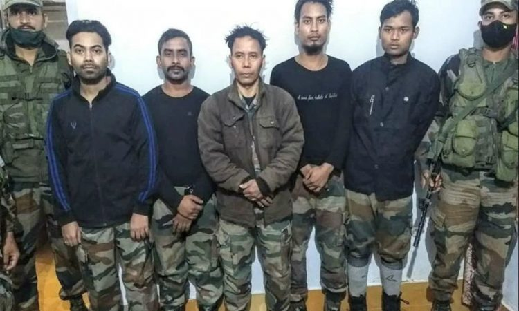 ULFA militant surrender