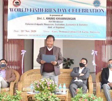 World Fisheries Day celebrates at Kohima