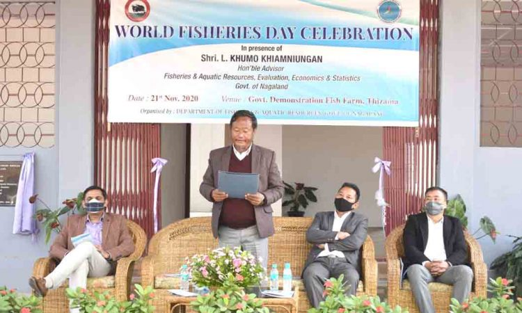 World Fisheries Day celebrates at Kohima