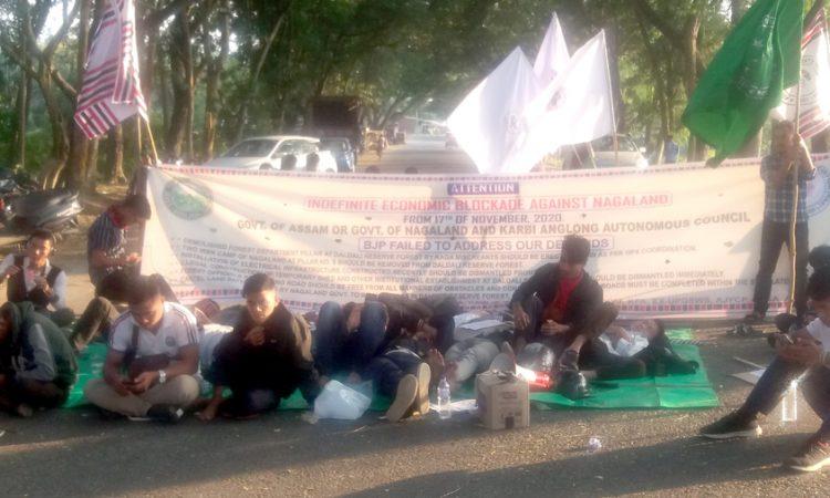 blockade at sarihajan