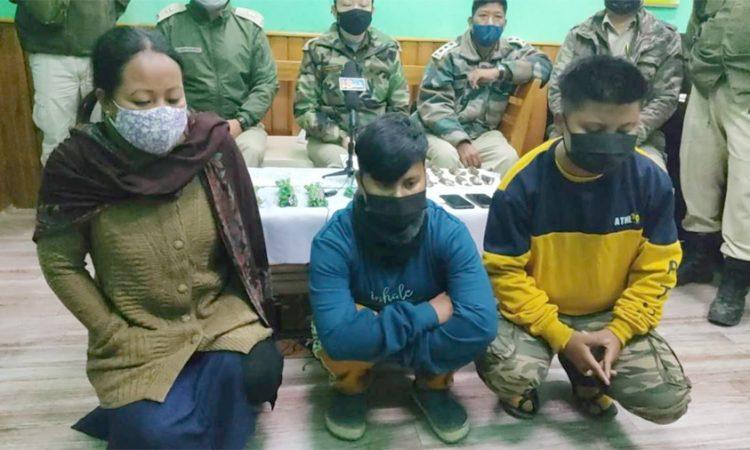 3 arrested in Imphal