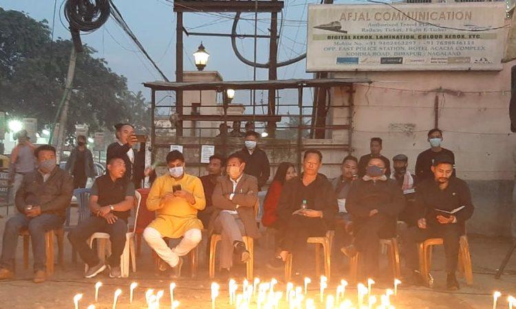 Congress candle light