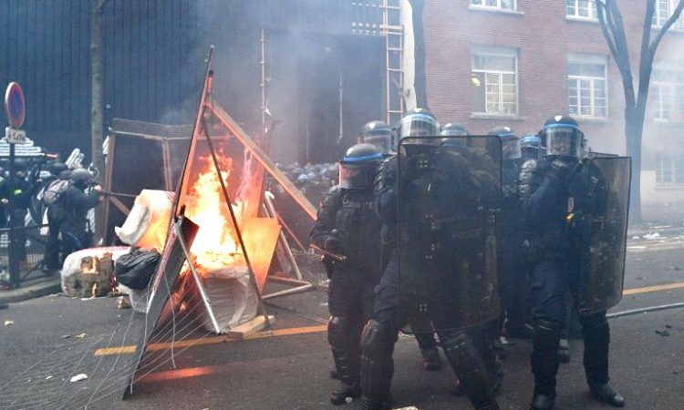 French riot