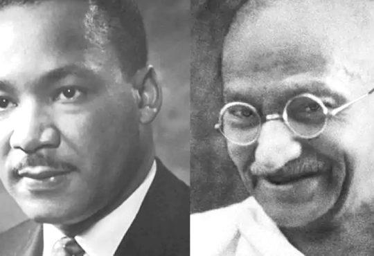 Gandhi Martin Luther King Jr