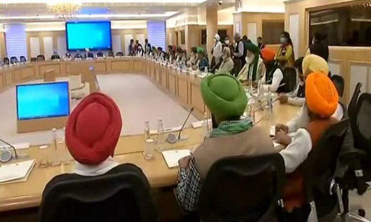 Govt farmers talk